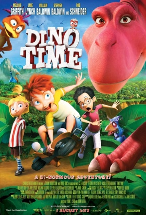Dino Time 3D Film Poster