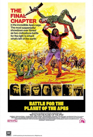 Battle for the Planet of the Apes Film Poster