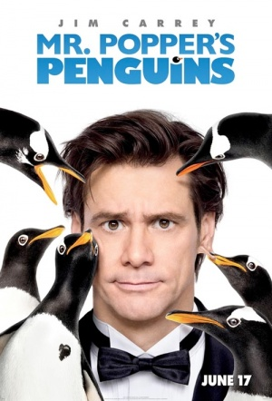 Mr. Popper's Penguins Film Poster