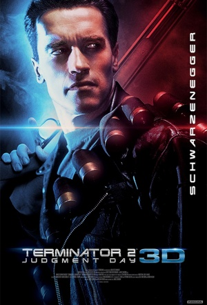 Terminator 2 3D: Judgment Day Film Poster