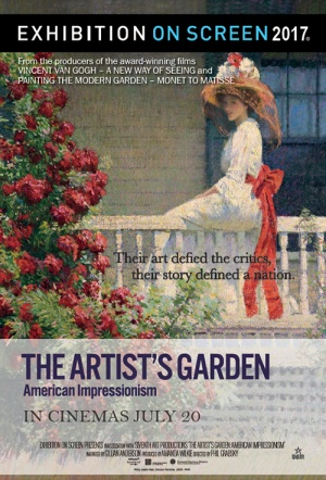 Exhibition on Screen: The Artist's Garden - American Impressionism Poster
