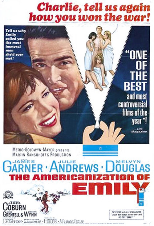 The Americanization of Emily Film Poster