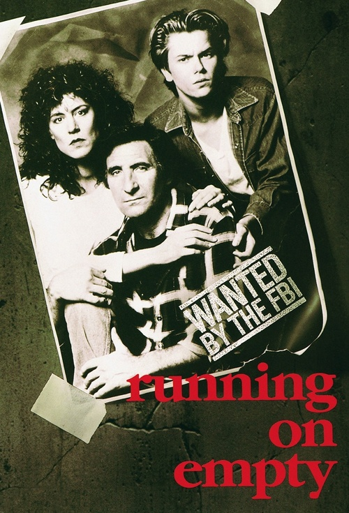 Running on Empty Film Poster