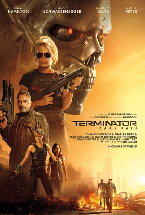 Terminator: Dark Fate Film Poster