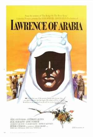 Lawrence of Arabia (50th Anniversary Restoration) Film Poster