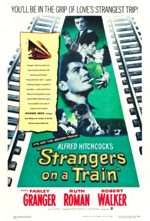 Strangers on a Train Film Poster