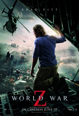 World War Z 3D Film Poster