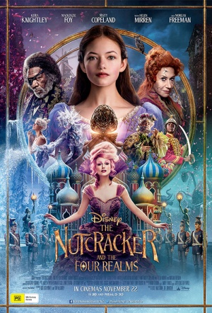 The Nutcracker and the Four Realms 3D Film Poster