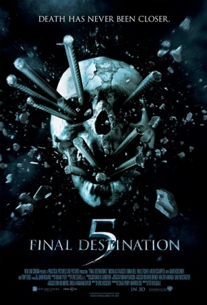 Final Destination 5 3D Film Poster