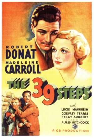 The 39 Steps Film Poster