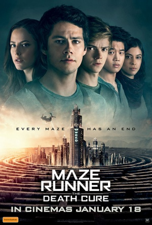 Maze Runner 3D: The Death Cure Film Poster