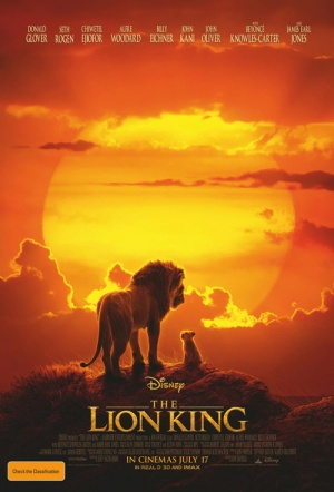 The Lion King 3D (2019) Film Poster
