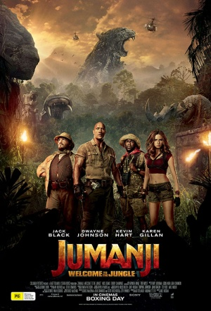 Jumanji 3D: Welcome to the Jungle