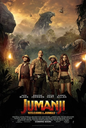 Jumanji 3D: Welcome to the Jungle Film Poster