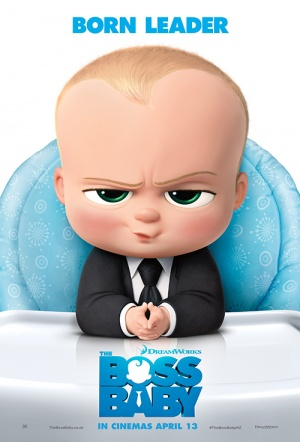 The Boss Baby 3D Film Poster