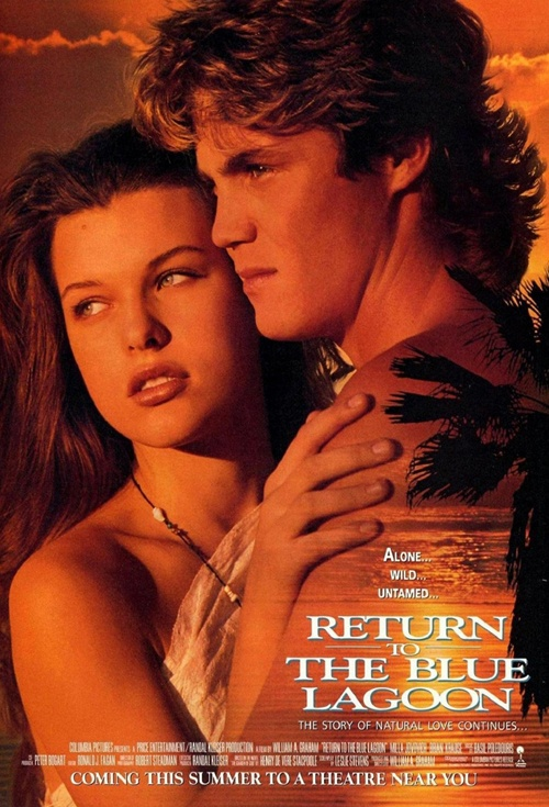 Return to the Blue Lagoon Film Poster