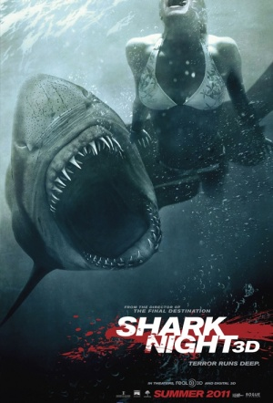 Shark Night 3D Film Poster