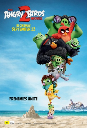 The Angry Birds Movie 2 3D Film Poster