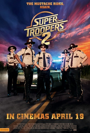 Super Troopers 2 Film Poster