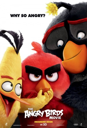The Angry Birds Movie 3D Film Poster