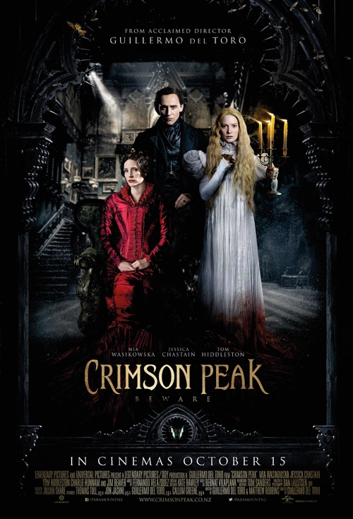 Crimson Peak 3D Film Poster