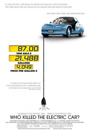 Who Killed The Electric Car? Film Poster