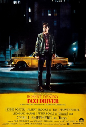 Taxi Driver Film Poster