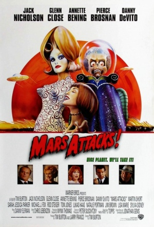 Mars Attacks! Film Poster