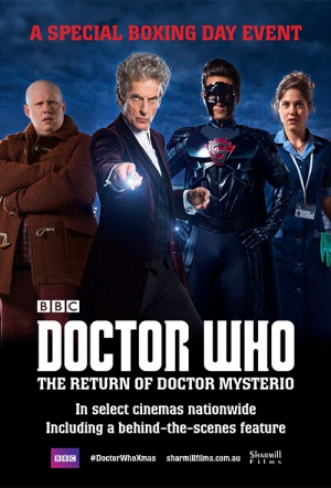 Doctor Who: The Return of Doctor Mysterio Film Poster