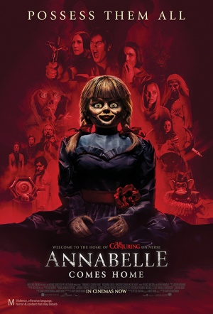 Annabelle Comes Home Film Poster