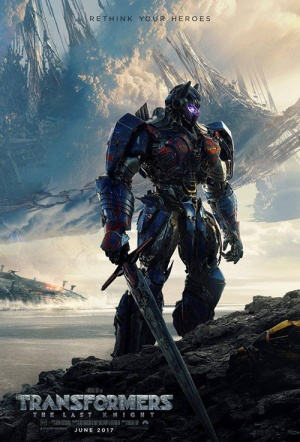 Transformers 3D: The Last Knight Film Poster