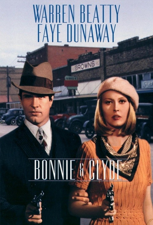 Bonnie and Clyde Film Poster