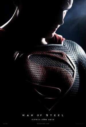 Man of Steel 3D Film Poster