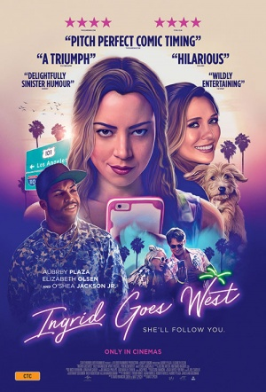 Ingrid Goes West Film Poster