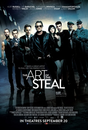 The Art of the Steal (2013) Film Poster