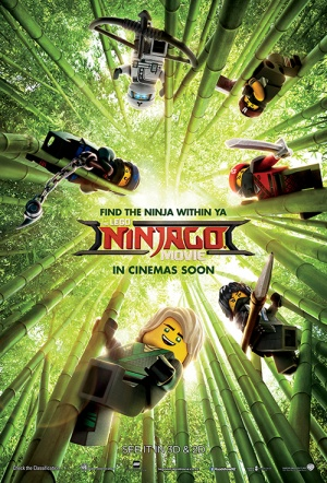The Lego Ninjago Movie 3D Film Poster