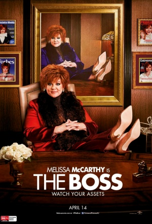 The Boss Film Poster