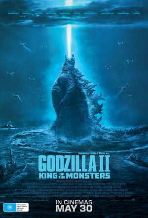 Godzilla II: King of the Monsters Film Poster
