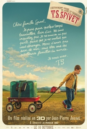 The Young and Prodigious T.S. Spivet 3D Film Poster