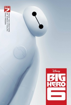 Big Hero 6 3D Film Poster