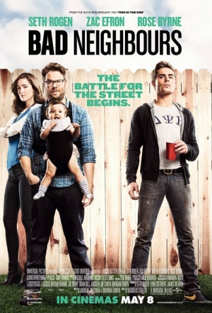 Bad Neighbours Film Poster