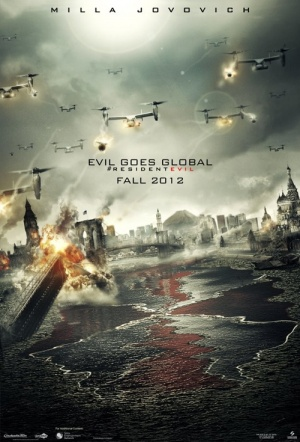 Resident Evil: Retribution Film Poster