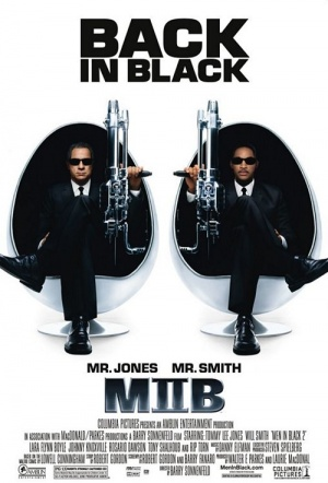 Men in Black II Film Poster
