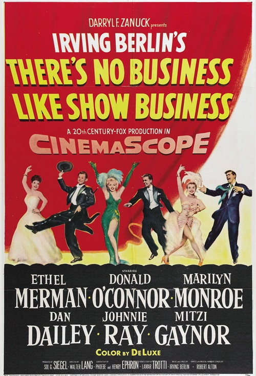 There's No Business Like Show Business Film Poster