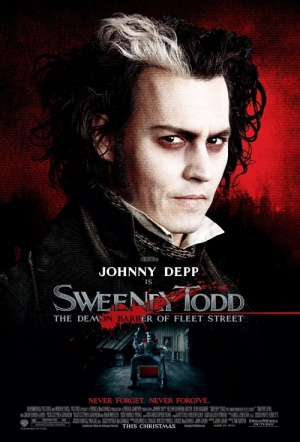 Sweeney Todd: The Demon Barber of Fleet Street Film Poster