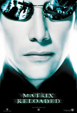 The Matrix Reloaded Film Poster