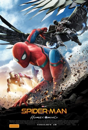 Spider-Man 3D: Homecoming Film Poster