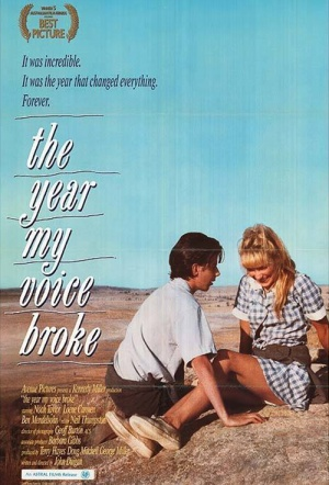 The Year My Voice Broke Film Poster