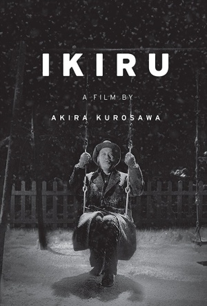 Living (Ikiru) Film Poster