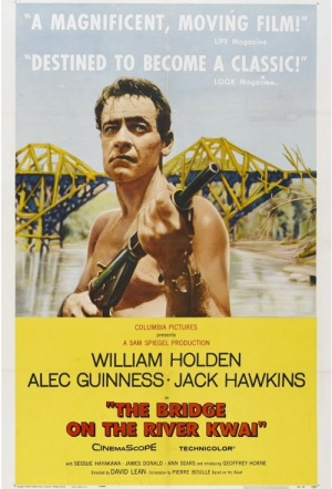 The Bridge on the River Kwai Film Poster